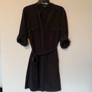 Black Button Down EXPRESS Dress